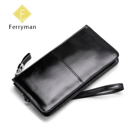 Ferryman原创设计 新款纯手工男士长款钱包手拿包个性钱包笔袋