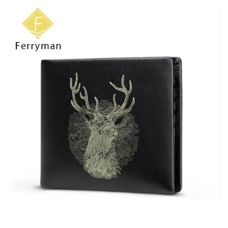 Ferryman原创设计 新款QQQ纯手工男士长款钱包手拿包个性钱包笔袋